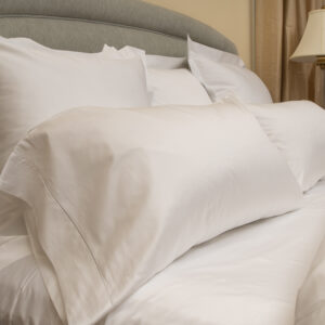 Sateen 600 P/Cases & Shams in White